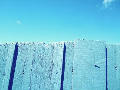 blue slats