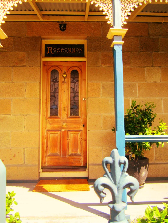 federation wooden door